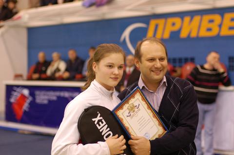 Анастасия Червякова и Андрей Антропов