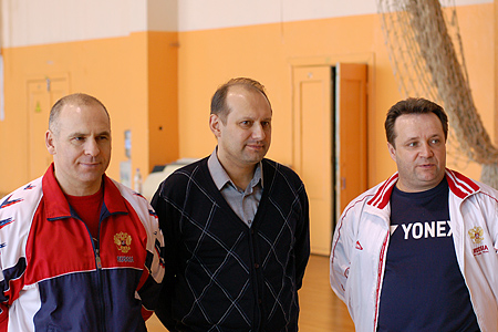 Валерий Турманидзе, Андрей Антропов, Игорь Назаров