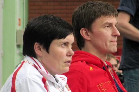 Клавдия Майорова и Николай Зуев