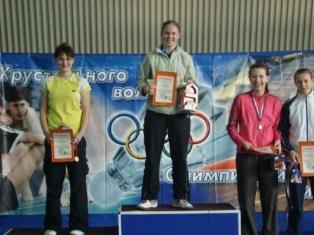 Победители и призеры в женской одиночной категории в  средней возрастной группе